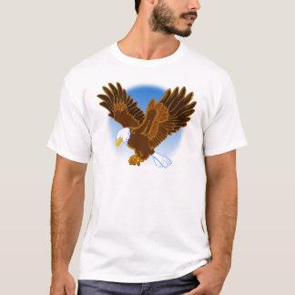 Der amerikanische Weißkopfseeadler, der es T-Shirt