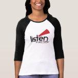 Der angepasste Baseball LTYM Frauen [Läufe SEHR kl T-shirt
