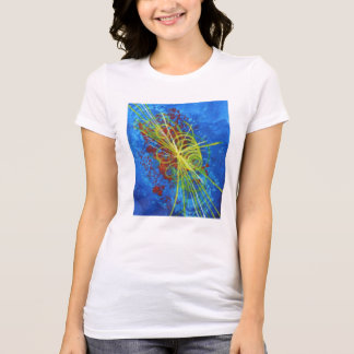 Higgs Boson Women's Fitted t-shirt