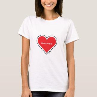 Der angepasste T - Shirt der Nieredonee-Frauen