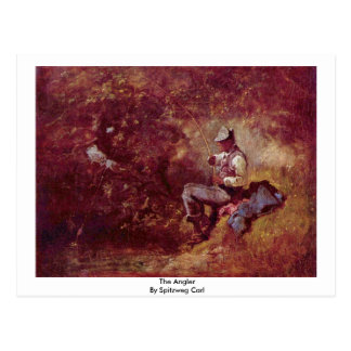 Der Angler durch Spitzweg Karl Postkarten