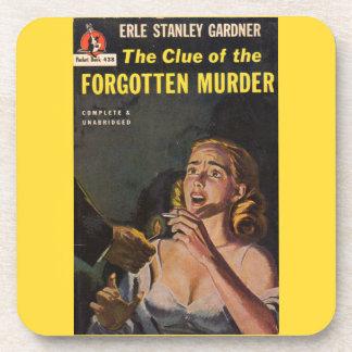 Der Anhaltspunkt des vergessenen Mordes Untersetzer