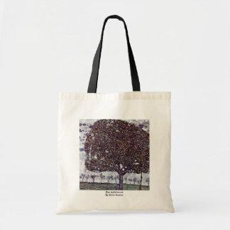 Der Apfelbaum durch Klimt Gustav Tragetaschen