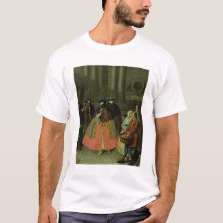 Der Apple-Verkäufer (Öl auf Leinwand) T-Shirt