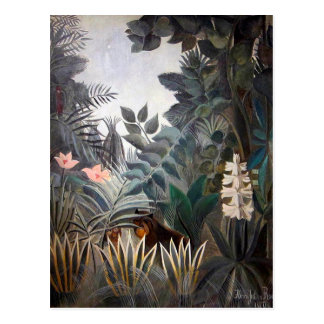 Der äquatoriale Dschungel Postkarte
