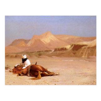 Der Araber und sein Steed Postkarte