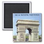 Der Arc de Triomphe, PARIS FRANKREICH Magnets