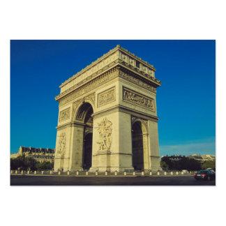 Der Arc de Triomphe, Paris, Frankreich Visitenkarten Vorlagen