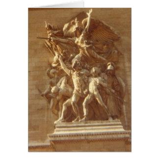 """""""Der Arc de Triomphe, Paris """" Karte"""