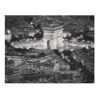 Der Arc de Triomphe Postkarte