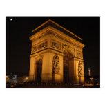 Der Arc- de Triomphepostkarte