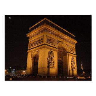 Der Arc- de Triomphepostkarte Postkarte
