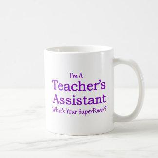 Der Assistent des Lehrers Kaffeetasse