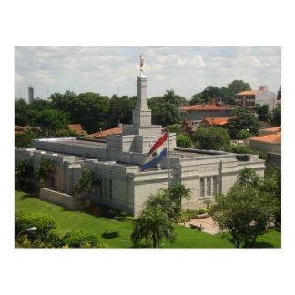 Der Asunción Paraguay LDS Tempel Postkarten