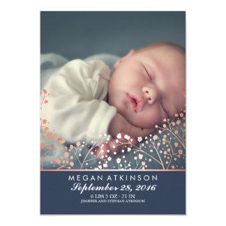 Der Atem-Baby-Foto-Geburt des Karte