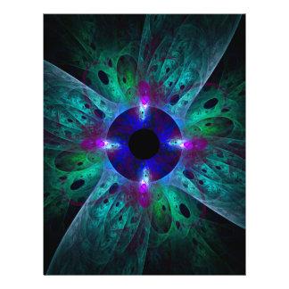 Der Augen-abstrakte Kunst-Flyer