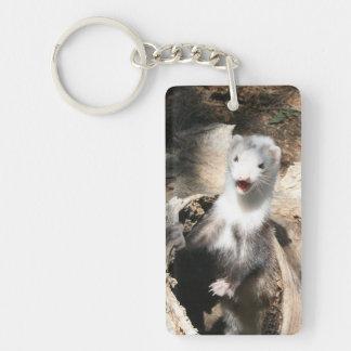 Der Ausblick addieren Foto-Acryl Keychain Schlüsselanhänger