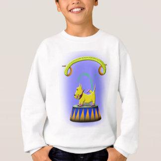 der außerordentliche menschliche füßige sweatshirt