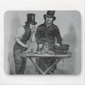 Der Austern-Stall Mousepad