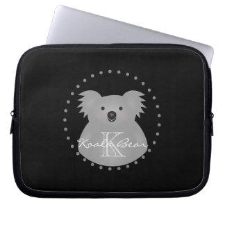 Der australische niedliche Koala-Bär addieren Ihr Laptopschutzhülle