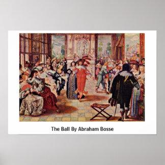 Der Ball durch Abraham Bosse Poster