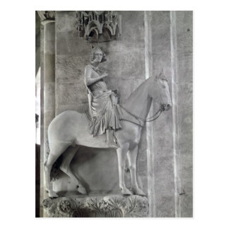 Der Bamberg-Reiter, 1230-35 Postkarte