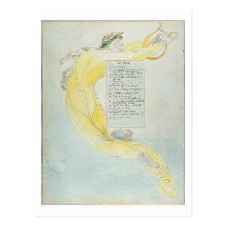 """""""Der Barde"""", entwerfen 52 """"von den Gedichten von Postkarte"""