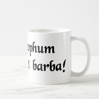 Der Bart definiert nicht einen Philosophen Kaffeetasse