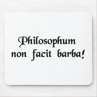 Der Bart definiert nicht einen Philosophen Mauspad