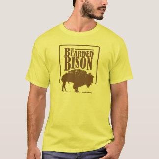 Der bärtige Bison T-Shirt