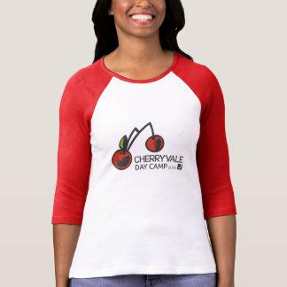 Der Baseball der Frauen 3/4 T-Stück T-Shirt