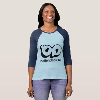 Der Baseball der Frauen besseres Vergnügens-Shirt! T-Shirt
