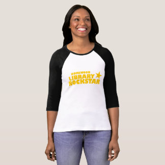 Der Baseball-T-Shirt Homewood Bibliothek Rockstar T-Shirt