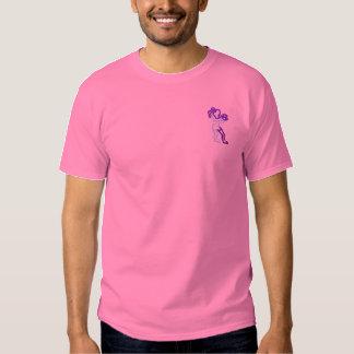 Der Basketball der Frauen Besticktes T-Shirt