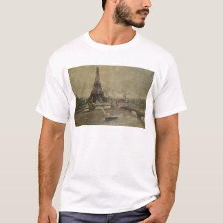 Der Bau des Eiffelturms T-Shirt