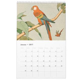 Der Bauernhof-und der Dschungel-Tier-Bild der Kalender