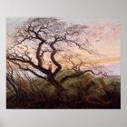 Der Baum der Krähen, 1822 Poster