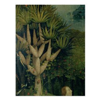 Der Baum des Wissens des Guts und Böse Postkarte