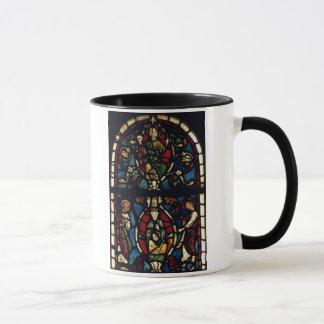 Der Baum von Jesse, 13. Jahrhundert (Buntglas) Tasse