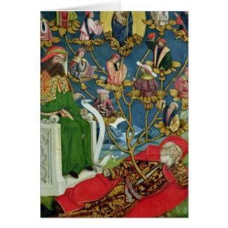 Der Baum von Jesse, vom Hauben-Altar, 1499 Karte