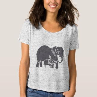 Der Bella der Elefant-Frauen Freund-T - Shirt