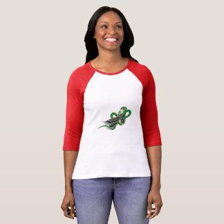 Der Bella der Frauen+Leinwand-Adlerfang-Schlange T T-Shirt
