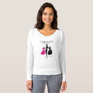 Der Bella der Frauen+Leinwand Flowy weg vom T-shirt