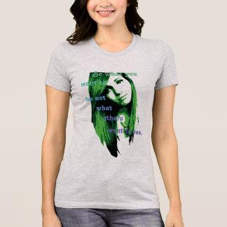 Der Bella der Frauen+Leinwand-Lieblingsjersey-T - T-Shirt