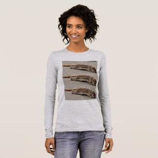 Der Bella der Frauen T-Stück @ kriechender Charlie Langarm T-Shirt