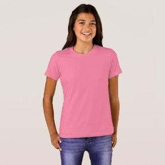 Der Bella der Mädchen+Leinwand-Crew-T - Shirt