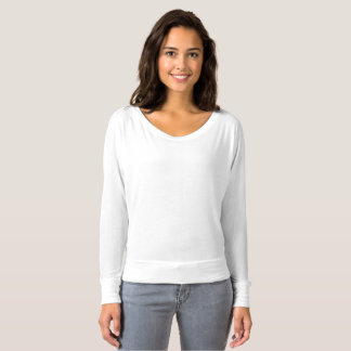 Der Bella Flowy der Frauen weg vom Schulter-Shirt T-shirt