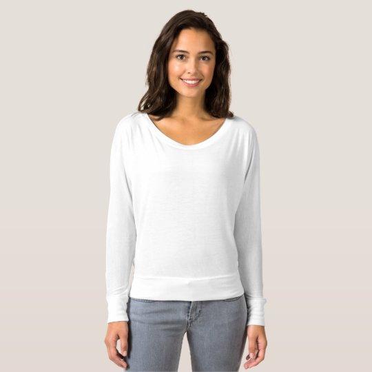 Bella+Canvas fließendes schulterfreies Shirt für Frauen