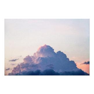 Der Berg von Farbe-/Värien vuori (Größe L) Fotodruck