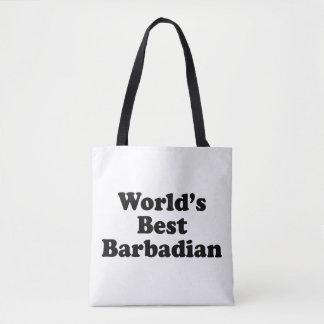 Der beste Barbadian der Welt Tasche